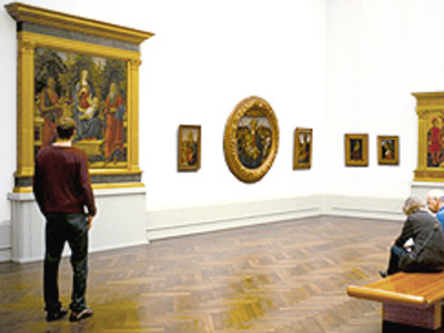 Main art gallery